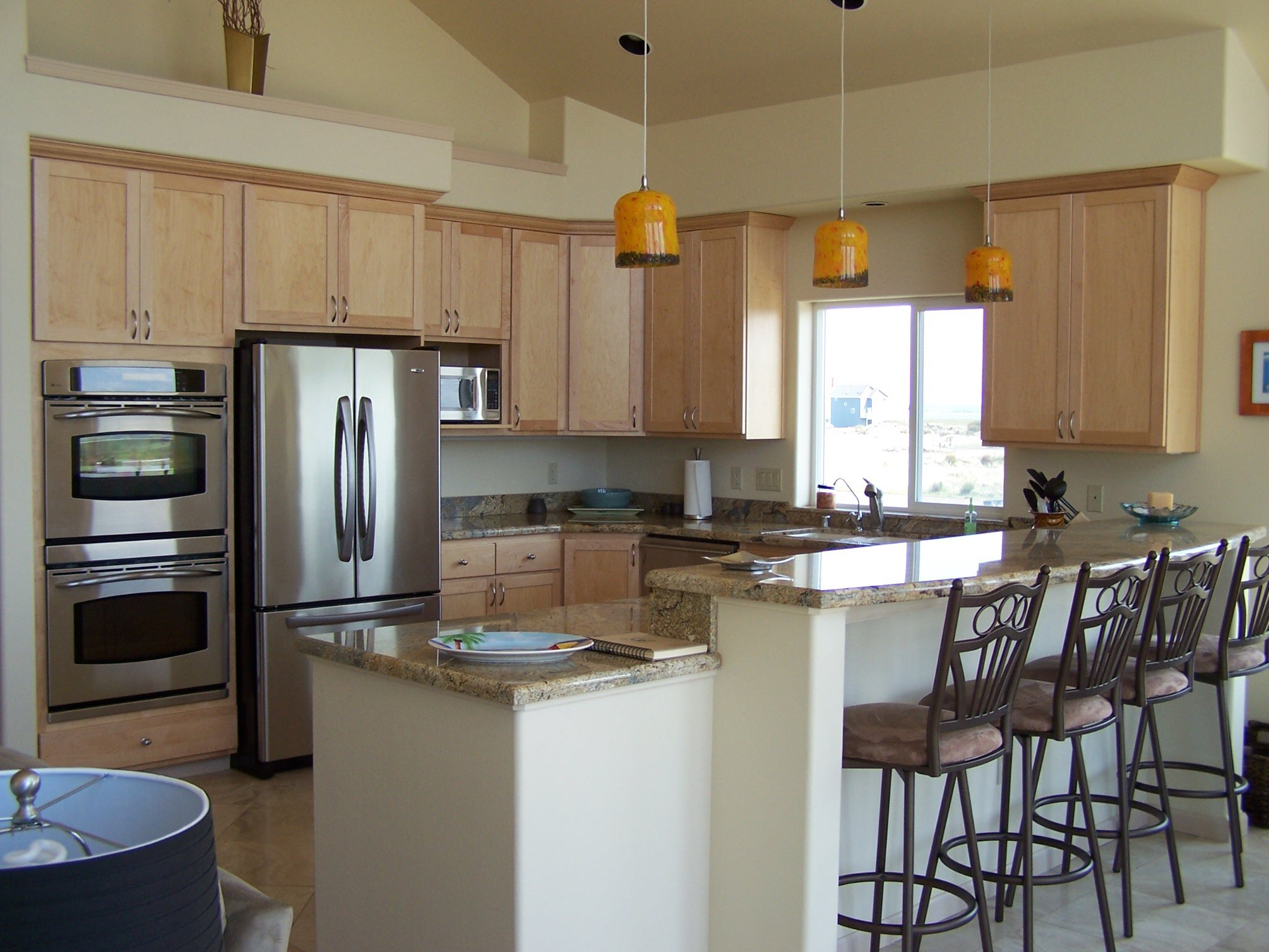 Poplin construction inc general contractors ocean shores for Custom kitchen remodel